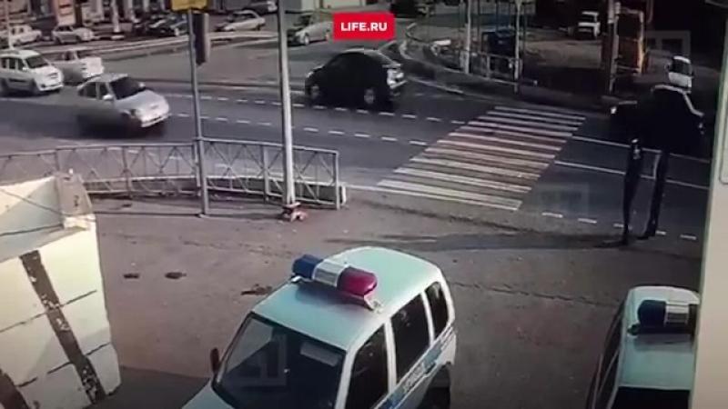 Нападение на пост полицейских в Ингушетии.mp4