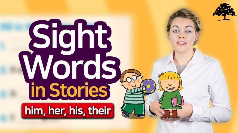 Easy Sight Words 2 (Unit 10 This Is Their House) | Dolch Word | Sight Words: him, her, his, their
