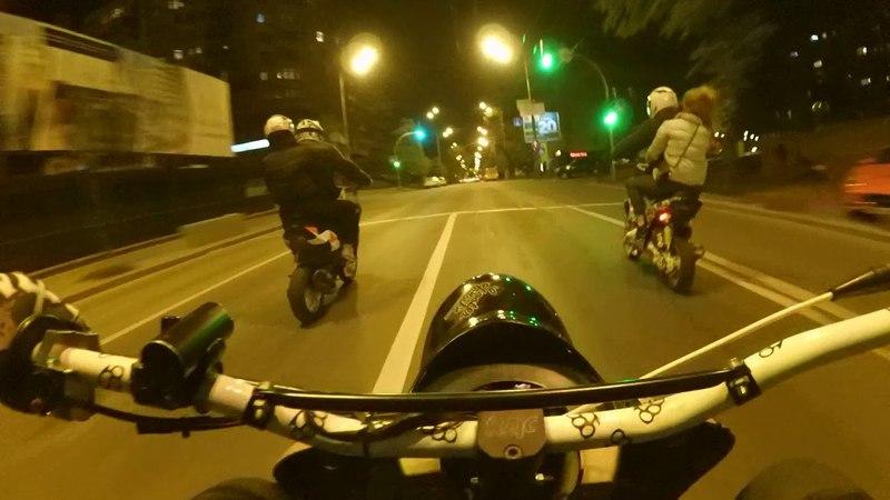Yamaha vino,jog rr,slider. City ride . Wheellies