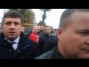 Активіст висказав Порошенку, що він шоколадне брехло
