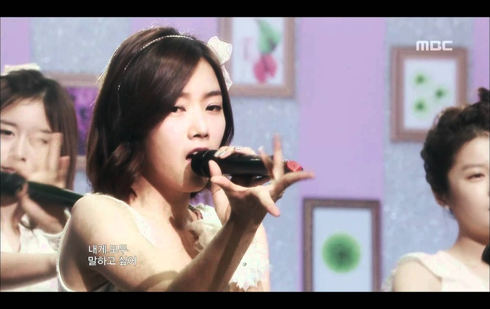 T-ara - Dreams Come True, 티아라 - 드림스 컴 트루, Music Core 20090815