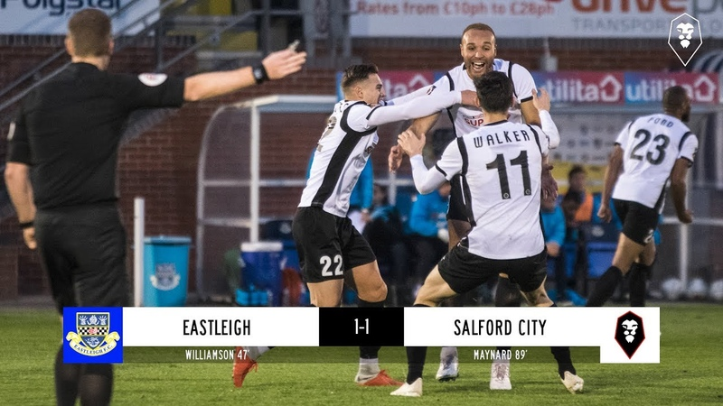 Eastleigh 1-1 Salford City | National League 03/11/18