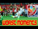 The Worst Moments/Fails of the 2015 Womens World Cup