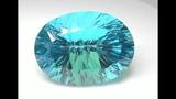 Rare Massive Size 121.39 Carat Internally Flawless Genuine Earth Mined Blue Topaz C465