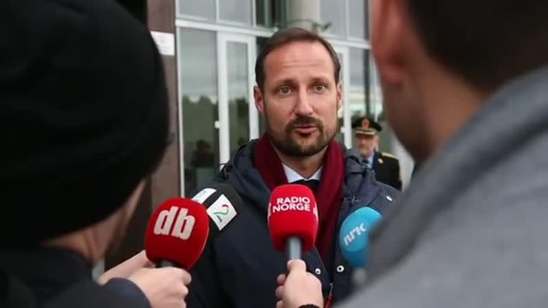 Kronprins Haakon Magnus om hvorfor Rådhusplassen er viktig for Bjørnholt elevene