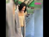Видео с японкой, которая впервые за 4 года встала на коньки