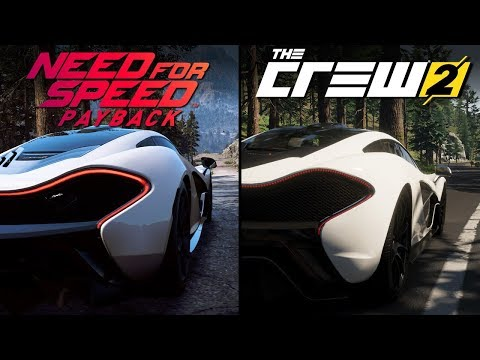 Need for Speed Payback vs The Crew 2 Direct Comparison