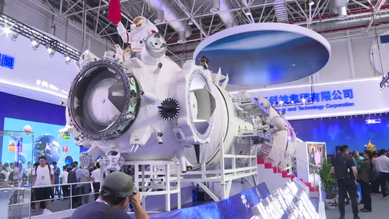 China apresenta sua futura estação espacial