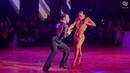 Amateur Latin Finalists Salvatore Sinardi and Viktoriya Kharchenko