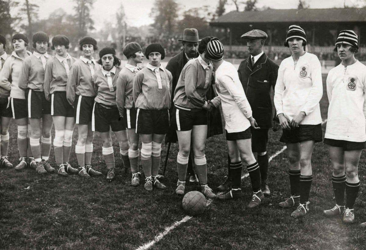 Когда футбол был молодым...