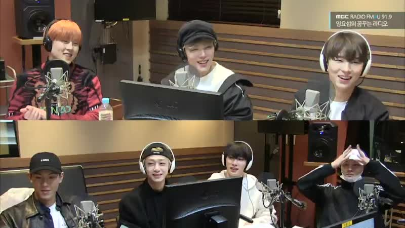 [VK][31.10.2018] MBC FM4U MONSTA X @ Yang Yoseops Dreaming Radio