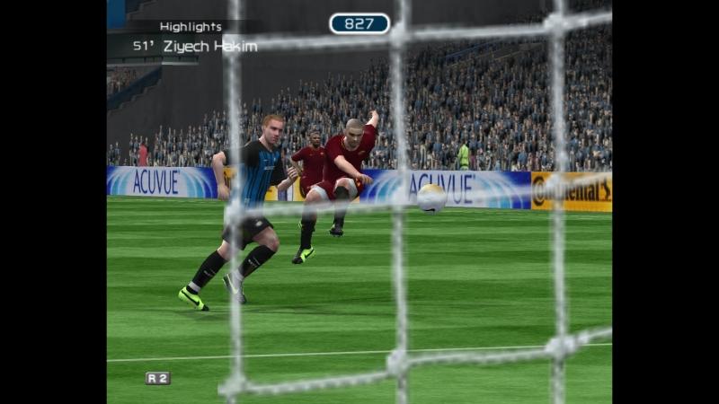 Serie A \ 10 \Roma - Inter \ Hakim Ziyech