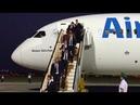 Llegada de la selección española a Krasnodar