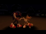 GMOD Sonic.exe Tails Danger RUN! animation