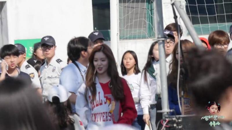 150516 Irene (Red Velvet) @ Pyeongchang Winter Olympic G-1000 Event Fancam