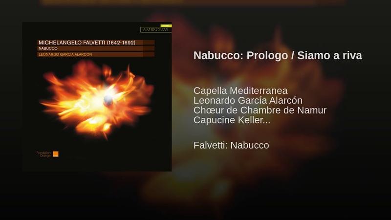Nabucco Prologo Siamo a riva