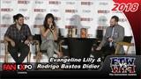 Evangeline Lilly &amp Rodrigo Bastos Didier - Squickerwonkers - Fan Expo Canada 2018