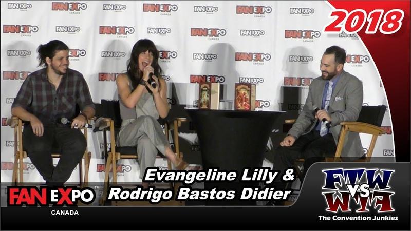 Evangeline Lilly Rodrigo Bastos Didier - Squickerwonkers - Fan Expo Canada 2018