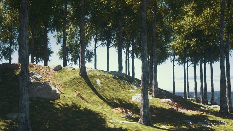 Cinema 4D Tutorial - Create Digital Nature Renders Using Octane [Part 1]