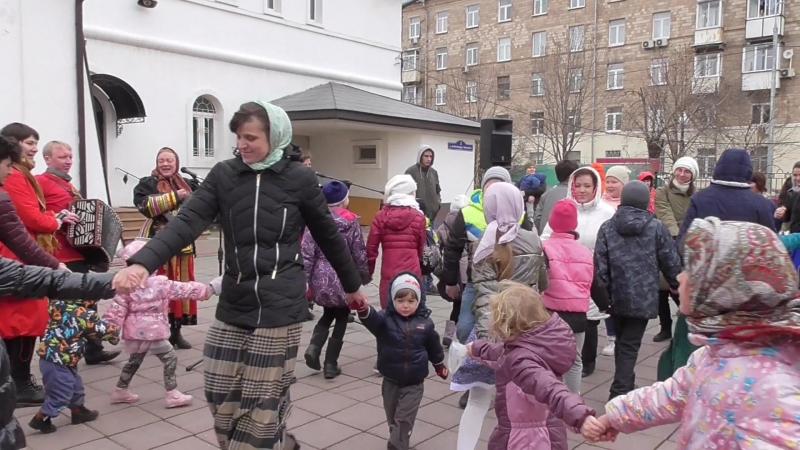 Пасхальный праздник в Балашихе Измайловская слобода в гостях у Александровской слободки