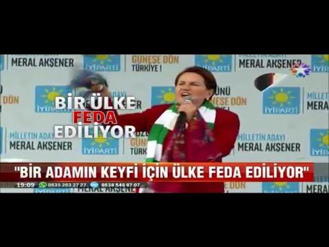 Meral Akşener Konyada Bir Adamın Keyfi İçin Ülke Feda Ediliyor