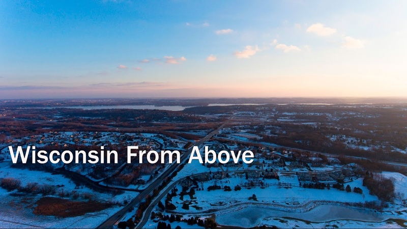 Wisconsin From Above [4K]