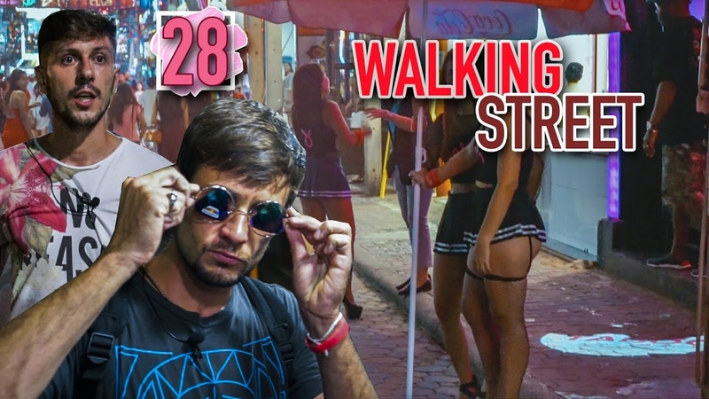 Паттайя Волкин стрит. Pattaya Walking street. Таиланд 2018 life