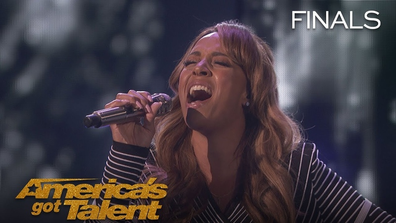 Glennis Grace: Incredible Singer Serenades Judges With Run Snow Patrol - America's Got Talent 2018