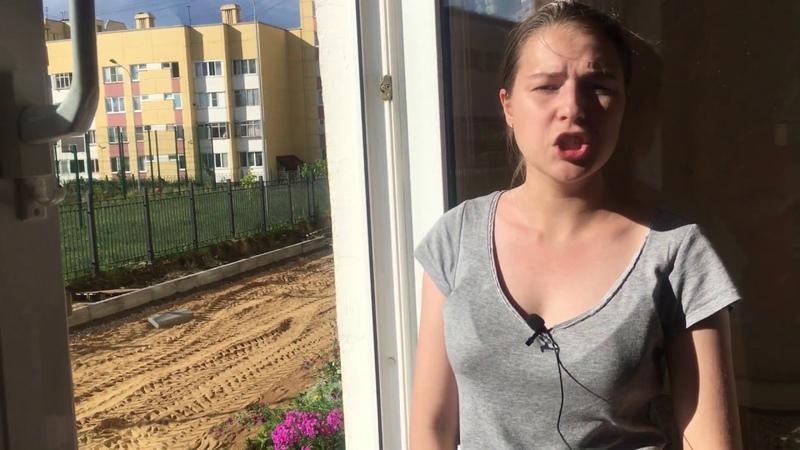В Петергофе под окнами жилого дома прокладывают дорогу
