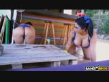 BangBros Sheila Ortega, Kesaa Ortega - 2 Big Asses Is Better Than One New Porn 2018