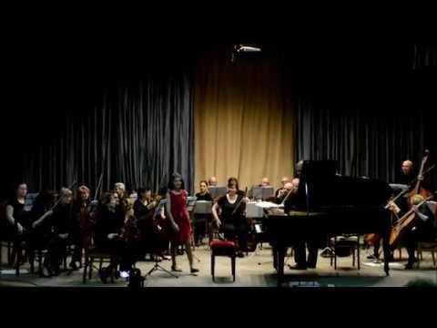 Anahit Stelmashova 11years old Saint-Saëns - Piano Concerto No 2 part 3
