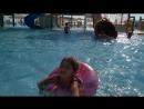 Весь день провела в аквапарке) Это ее любимое занятие))