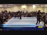 EWF -Womens Tag Team Match! Awesome Kong Zaida vs Raze Maritza