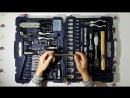 Обзор набора инструмента на 107 предметов.