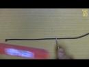 Стрельба из лука, часть 6 - Как завязать петлю на тетиве