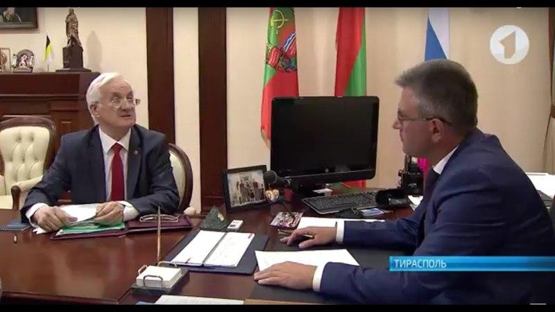 Президент встретился со Степаном Берилом