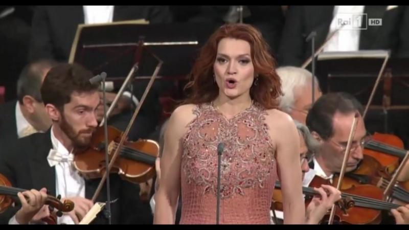 Ekaterina Bakanova - Exultate Jubilate - Concerto di Natale Assisi 2015