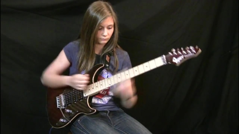Van Halen - Eruption Guitar Cover Tina S
