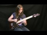 Van Halen - Eruption Guitar Cover Tina S