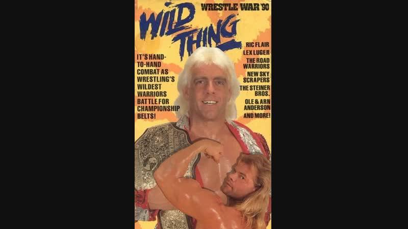 25 02 1990 WrestleWar 1990 Wild Thing HD