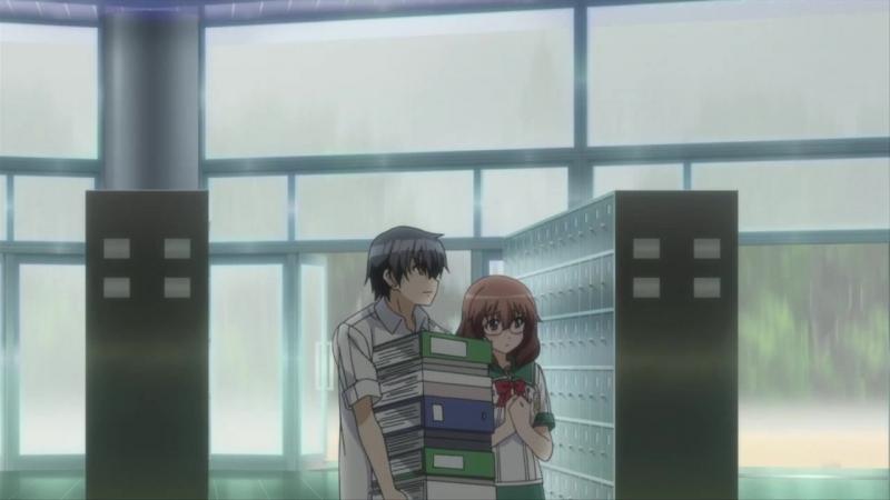 [Anime365] Современный мир хикки (момент из аниме Dakara Boku wa H ga Dekinai.)