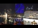 Лазерное шоу Бурдж-Халифпоющие фонтаны