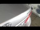Удаление вмятин без покраски до ремонта Не большой надавышь на ребре жескости багажника стоимость работы 2тр