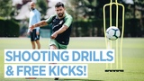 SHOOTING DRILLS & FREE KICKS | Training