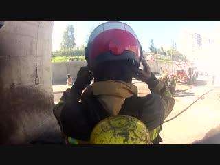 Шлем пожарного HPS 7000- опыт пожарной дружины Sacavem из Португалии