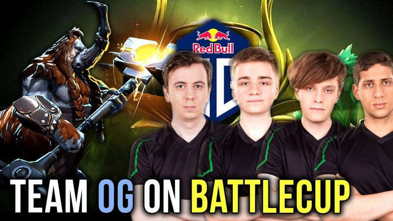 FULL OG TEAM ON Battlecup - N0tail, JerAx, 7mad-, s4 Fly - Dota 2