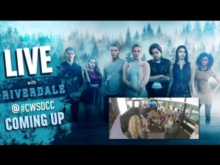 Riverdale - The cast of Riverdale FACEBOOK LIVE at CWSDCC!