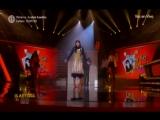 German Loero baila junto a Rossana Fernandez Maldonado en el Artista del A