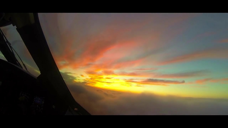Самые красивые заходы на посадку [FHD] _ The Most Beautiful Airplane Landing