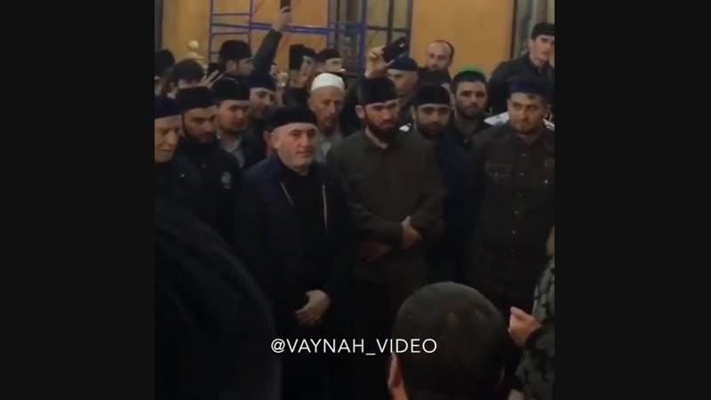 Рамзан Кадыров приехал в ингушское село Сурхахи